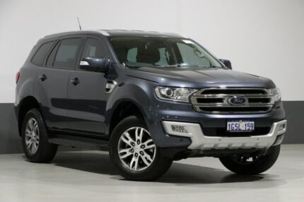 2015 Ford Everest UA Trend Grey 6 Speed Automatic Wagon Bentley Canning Area Preview