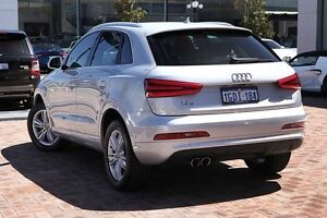 2012 Audi Q3 8U MY13 TDI S tronic quattro Silver 7 Speed Sports Automatic Dual Clutch Wagon Osborne Park Stirling Area Preview