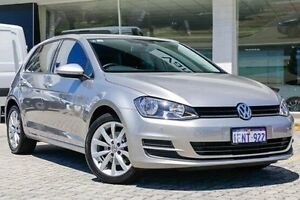 2014 Volkswagen Golf VII MY14 90TSI DSG Comfortline Silver 7 Speed Sports Automatic Dual Clutch St James Victoria Park Area Preview