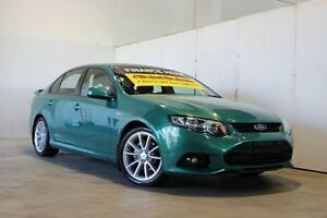 2013 Ford Falcon FG MK2 XR6 Green 6 Speed Auto Seq Sportshift Sedan Underwood Logan Area Preview