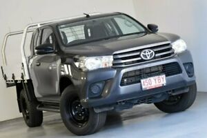 2018 Toyota Hilux GUN126R SR Extra Cab Grey 6 Speed Manual Cab Chassis Kedron Brisbane North East Preview