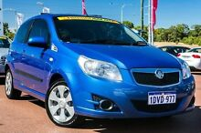 2010 Holden Barina TK MY10 Blue 5 Speed Manual Hatchback Wangara Wanneroo Area Preview