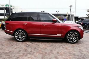 2013 Land Rover Range Rover L405 14MY SDV8 Vogue SE Red 8 Speed Sports Automatic Wagon Osborne Park Stirling Area Preview