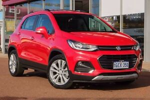2017 Holden Trax TJ MY17 LTZ Red 6 Speed Automatic Wagon Glendalough Stirling Area Preview