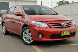 2011 Toyota Corolla ZRE152R MY11 Ascent Sport Red 4 Speed Automatic Hatchback Gosford Gosford Area Preview