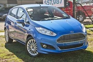 2016 Ford Fiesta WZ Sport Winning Blue 6 Speed Automatic Hatchback Capalaba West Brisbane South East Preview