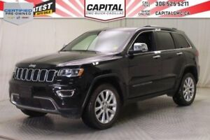 2017 Jeep Grand Cherokee Limited 4WD*V6*Leather*Sunroof*
