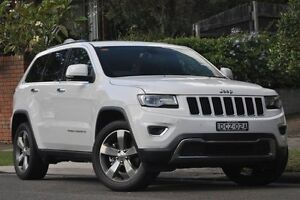 2015 Jeep Grand Cherokee WK MY15 Limited Bright White 8 Speed Sports Automatic Wagon Mosman Mosman Area Preview