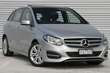 2015 Mercedes-Benz B180  Silver Sports Automatic Dual Clutch Hatchback Ringwood East Maroondah Area Preview