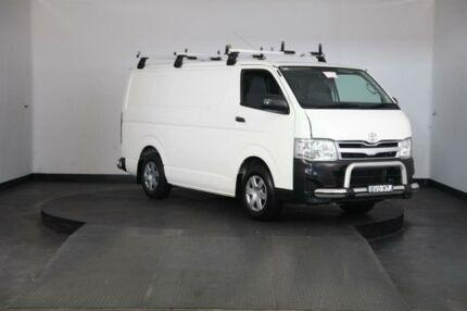 2010 Toyota Hiace TRH201R MY07 Upgrade LWB White 5 Speed Manual Van Greenacre Bankstown Area Preview