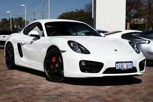2014 Porsche Cayman 981 MY15 S PDK White 7 Speed Sports Automatic Dual Clutch Coupe Osborne Park Stirling Area Preview