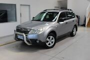 2009 Subaru Forester S3 MY10 X AWD Silver 5 Speed Manual Wagon Moonah Glenorchy Area Preview