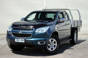 2012 Holden Colorado RG MY13 LTZ Space Cab Blue 5 Speed Manual Utility Seaford Frankston Area Preview