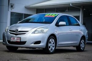 2006 Toyota Yaris NCP93R YRS Silver 5 Speed Manual Sedan
