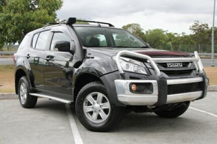 2013 Isuzu MU-X MY14 LS-M Rev-Tronic 4x2 Black 5 Speed Sports Automatic Wagon Springwood Logan Area Preview