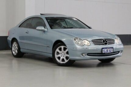 2004 Mercedes-Benz CLK240 C209 Avantgarde Blue 5 Speed Auto Touchshift Coupe Bentley Canning Area Preview