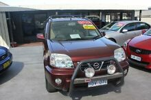 2002 Nissan X-Trail T30 TI (4x4) Burgundy 5 Speed Manual Wagon Mitchell Gungahlin Area Preview