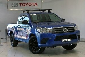 2015 Toyota Hilux GUN123R SR Nebula Blue 5 Speed Manual Cab Chassis Waterloo Inner Sydney Preview