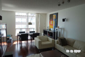 ALL INCLUSIVE ONE + DEN IN YORKVILLE / PARKING INCLUDED