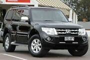 2012 Mitsubishi Pajero NW MY12 Platinum Black 5 Speed Sports Automatic Wagon Christies Beach Morphett Vale Area Preview