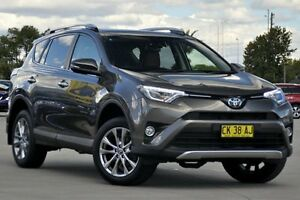 2016 Toyota RAV4 ASA44R MY16 Cruiser (4x4) Bronze 6 Speed Automatic Wagon Greenacre Bankstown Area Preview