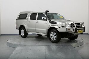 2011 Toyota Hilux KUN26R MY10 SR5 Champagne 4 Speed Automatic Utility Old Guildford Fairfield Area Preview