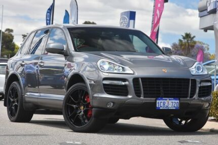 2007 Porsche Cayenne 9PA MY08 Turbo Grey 6 Speed Sports Automatic Wagon Willagee Melville Area Preview