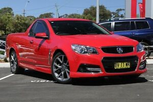 2013 Holden Ute VF MY14 SS V Ute Red 6 Speed Manual Utility Gymea Sutherland Area Preview