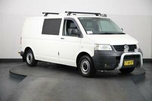 2009 Volkswagen Transporter T5 MY08 (LWB) White 6 Speed Manual Van