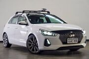 2017 Hyundai i30 PD MY18 SR D-CT Premium White 7 Speed Sports Automatic Dual Clutch Hatchback Myaree Melville Area Preview