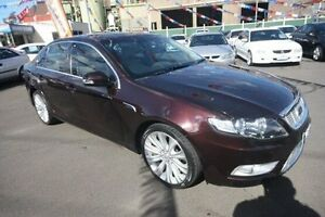 2009 Ford Falcon FG G6E Purple 6 Speed Sports Automatic Sedan Kingsville Maribyrnong Area Preview