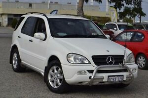 2002 Mercedes-Benz ML270 CDI W163 MY2002 Classic White 5 Speed Sports Automatic Wagon Wangara Wanneroo Area Preview