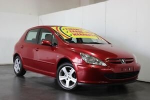 2004 Peugeot 307 1.6 Maroon 4 Speed Automatic Hatchback Underwood Logan Area Preview