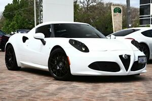 2015 Alfa Romeo 4C TCT White 6 Speed Sports Automatic Dual Clutch Coupe Osborne Park Stirling Area Preview