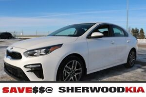 2019 Kia Forte EX+ (AT) SUNROOF, WIRELESS CELL CHARGER, BLIND SP
