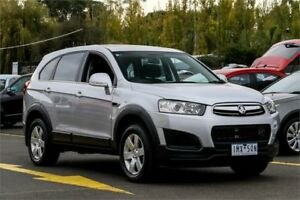 2014 Holden Captiva CG MY14 7 LS Silver 6 Speed Sports Automatic Wagon Ringwood East Maroondah Area Preview