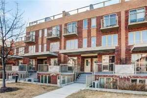 Freshly Painted 3+1 Br Condo Conveniently Located At Wallace Ave