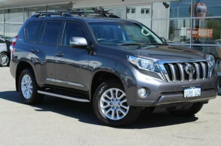 2015 Toyota Landcruiser Prado GDJ150R Kakadu Grey 6 Speed Sports Automatic Wagon Osborne Park Stirling Area Preview