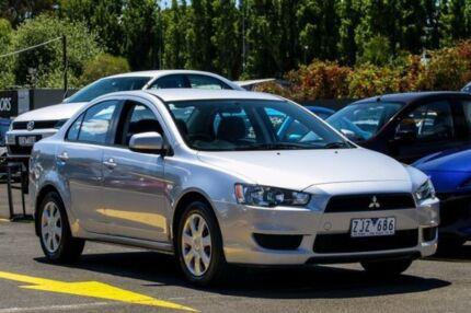 2012 Mitsubishi Lancer CJ MY12 ES Silver 5 Speed Manual Sedan Ringwood East Maroondah Area Preview
