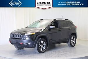 2016 Jeep Cherokee Trail hawk 4WD  *Heated/Cooled Seats-Leather-