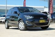 2014 Hyundai i20 PB MY15 Active Phantom Black 4 Speed Automatic Hatchback Baulkham Hills The Hills District Preview