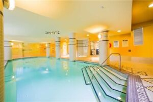 Furnished luxury condo steps from subway, Yonge St , and Hwy 401