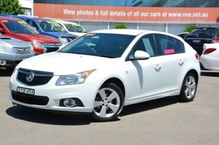 2014 Holden Cruze JH Series II MY14 Equipe White 5 Speed Manual Hatchback New Lambton Newcastle Area Preview