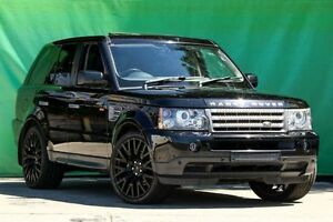 2006 Land Rover Range Rover Sport L320 06MY Super Charged Black 6 Speed Sports Automatic Wagon Ringwood East Maroondah Area Preview
