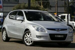 2007 Hyundai i30 FD SLX Silver 4 Speed Automatic Hatchback Condell Park Bankstown Area Preview
