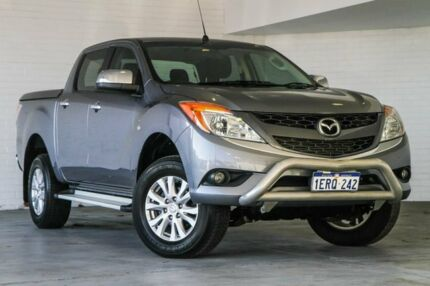 2015 Mazda BT-50 UP0YF1 XTR 4x2 Hi-Rider Grey 6 Speed Sports Automatic Utility Bellevue Swan Area Preview