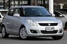 2011 Suzuki Swift FZ GLX Star Silver 4 Speed Automatic Hatchback Christies Beach Morphett Vale Area Preview
