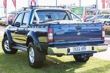 2013 Nissan Navara D22 S5 ST-R Blue 5 Speed Manual Utility Wangara Wanneroo Area Preview
