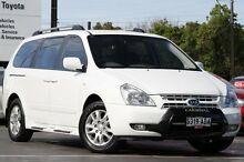 2009 Kia Carnival VQ MY09 EX Luxury White 4 Speed Sports Automatic Wagon Adelaide CBD Adelaide City Preview