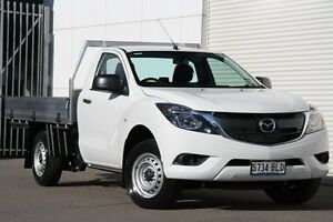 2016 Mazda BT-50 UR0YD1 XT 4x2 Cool White 6 Speed Manual Cab Chassis West Hindmarsh Charles Sturt Area Preview